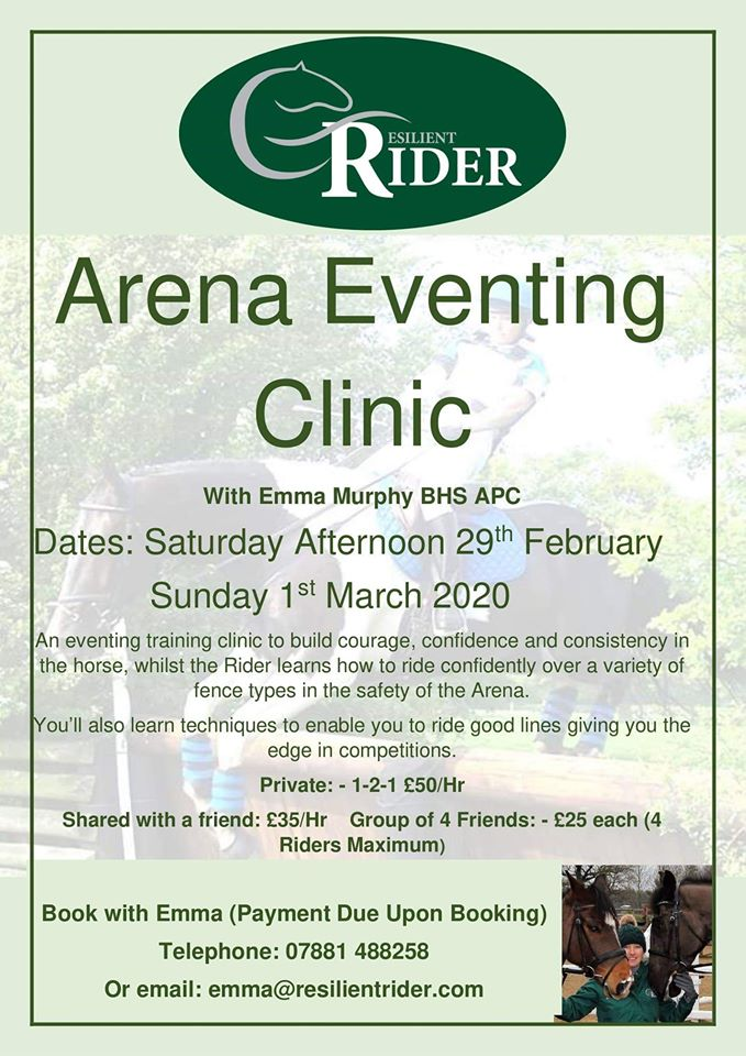 Arena Eventing Clinic